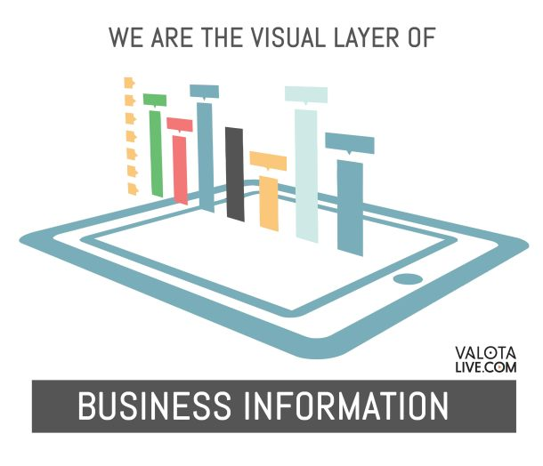 visual layer of business information