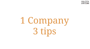 3 Tips to support One Company initiative