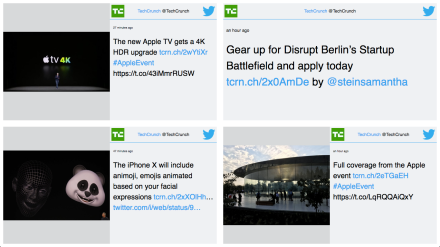 Valotalive Twitter Grid is a Twitter Wall with a customisable layout